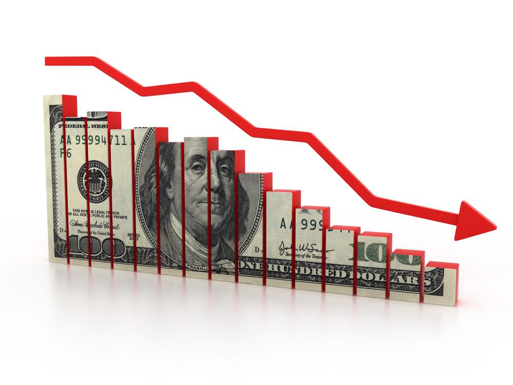 US dollar decreasing inflation