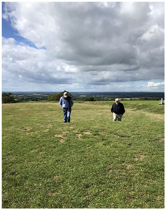 Climbing the Hill of Tara