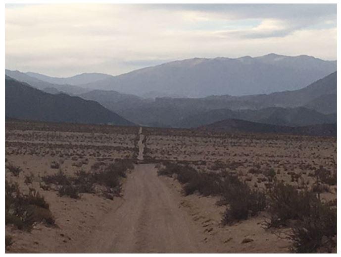 The long road at Gualfin