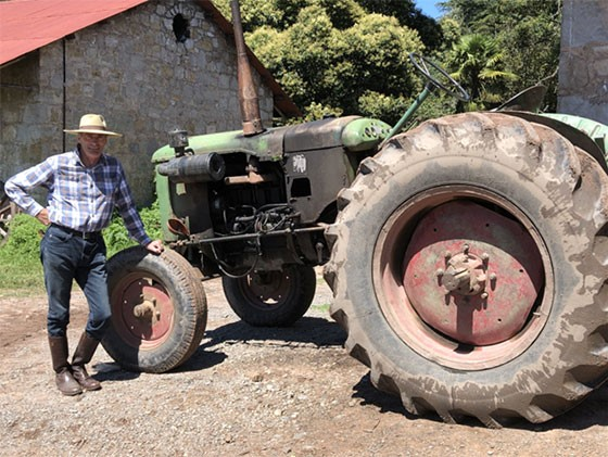 Perhaps Bill could use a new tractor at Gualfin