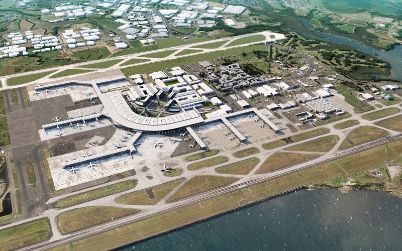 Auckland Airport invest investing assets