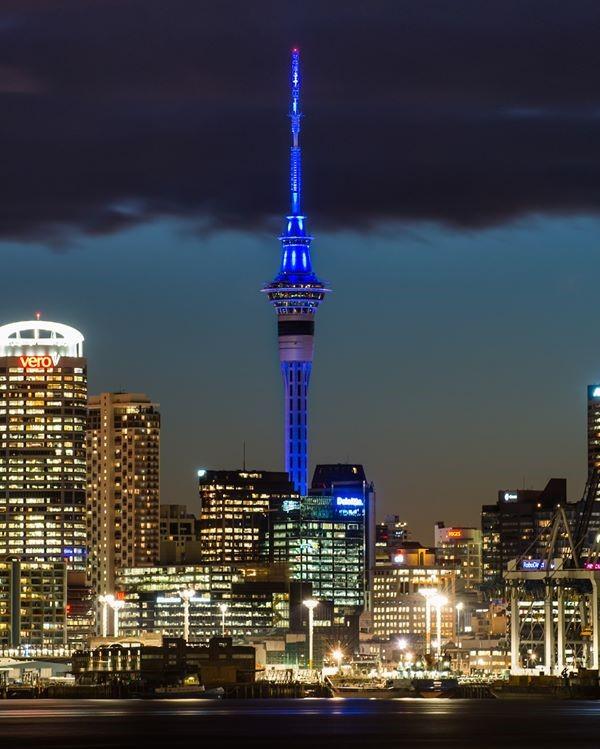 Sky Tower Auckland Lockdown